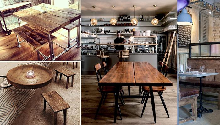 Loft Look Cafe Tables