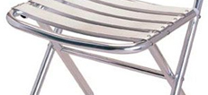 Folding Cafe Chairs
