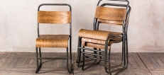 Retro Style Cafe Chairs
