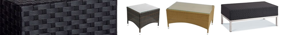 Outdoor Rattan Tables
