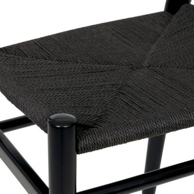 Katcut Dining Chair Black Seat Detail