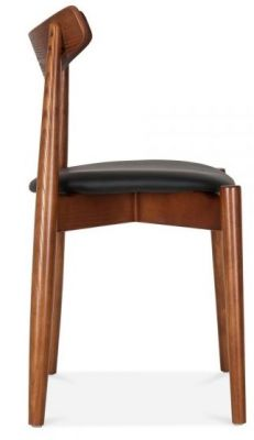 Chepstow Diniing Chair Walnut Frame Side View