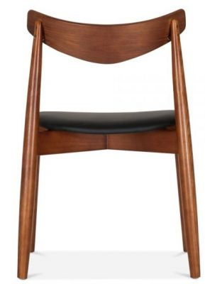 Chepstow Dining Chair Walnut Frame Rear View
