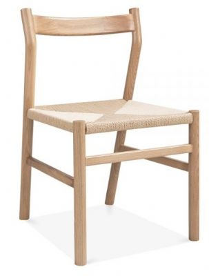 Paco Designer Dining Chair Natural Finish
