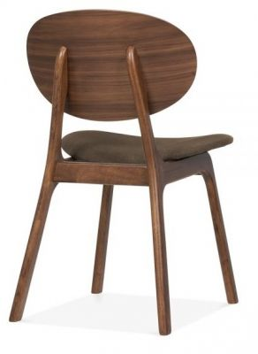 Pascal Designer Dining Chairs Rear Angle