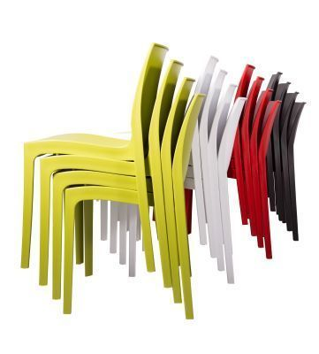 Mobey Chairs Stacked