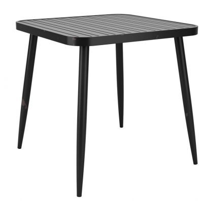 Angelica Outdoor Vintage Table Black