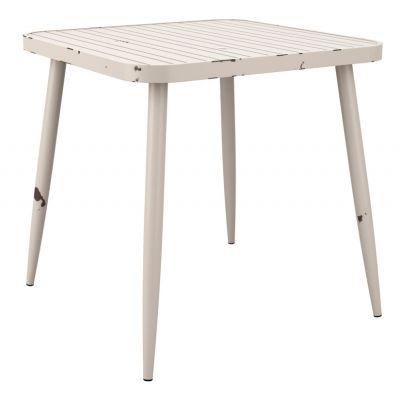 Angelica White Anttue Outdoor Table
