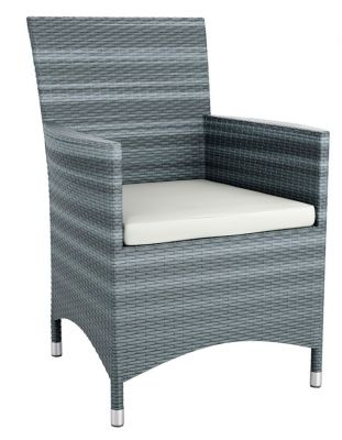 LOndi Outdoor Grey Leave Lounge Chair