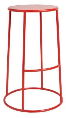 Maxo High Stool In Red