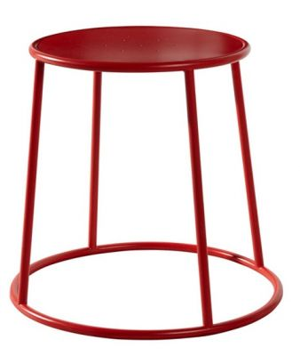 Maxo Low Stool In Red