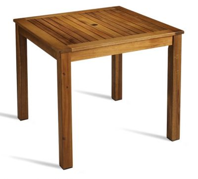 Windsor Outdoor Square Wooden Dining Table