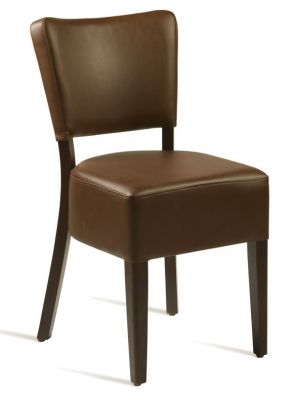 Rosie V3brown Leather Dining Chairs