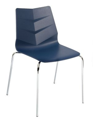 Graphic Chair In Navy