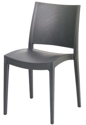 Lyon Poly Chair Black