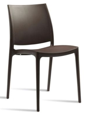 Maya Chair Dark Brown