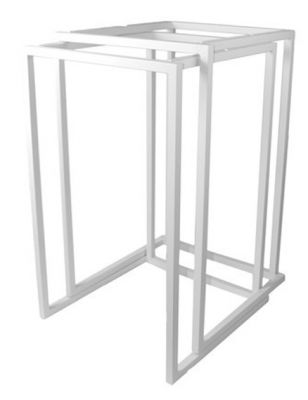 Cubo Aluminium Table Frame