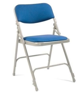 Universal Folding Chair Pqaded Seat And Back