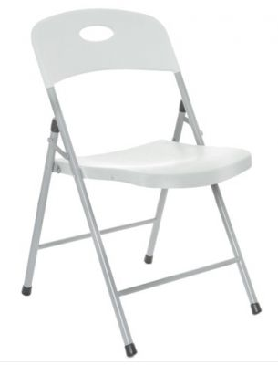 Contrax Plus Grey Folding Chair 2
