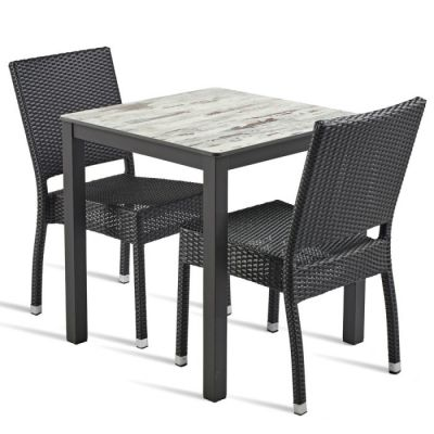 Londi HPL Two Person Outdoor Dining Set