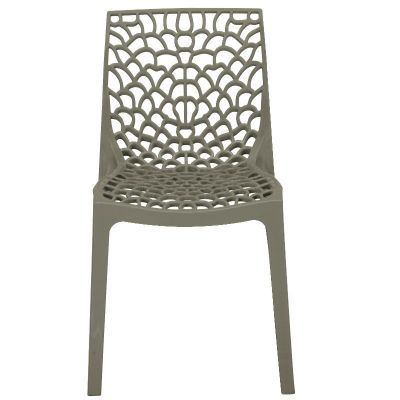 NC-001GY Neptune Polypropylene Chair Pearl Grey 3