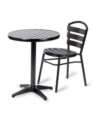 Black Opal Table And Chairs