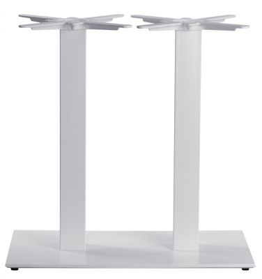 Moza Twin Pedestal Dining Height Table Base