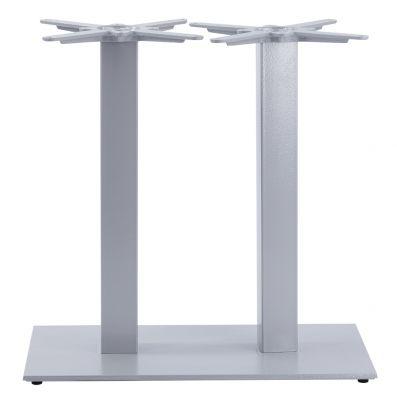Moza Twin Pedestal Base In Grey