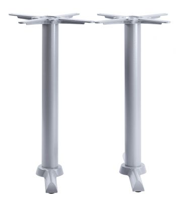 Tampa Twin Table Base In Grey