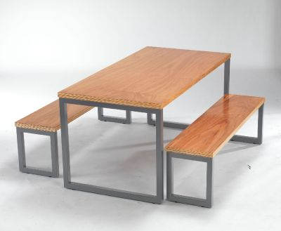 Kaelin Bench Dining Set 1