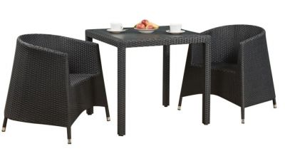 Tempa Tub Chair Outdoor Weave Dining Set