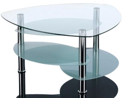 Presto Four Tier Glass Coffee Table