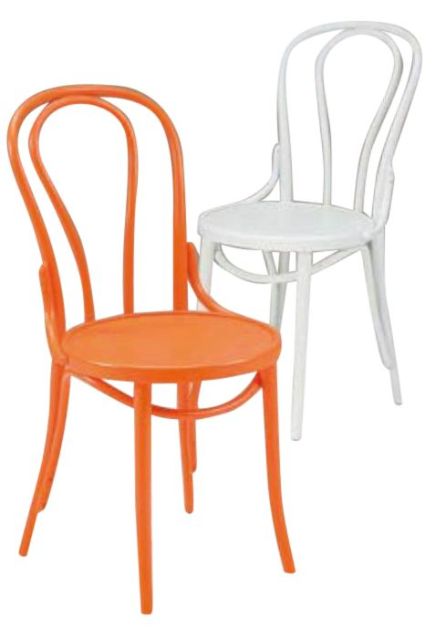 check coloured bentwood chairs