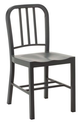 Navy Chair In Anthracite