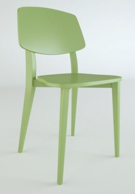 Jupe Contemporary Dining Chair - Coloured Finishes 1