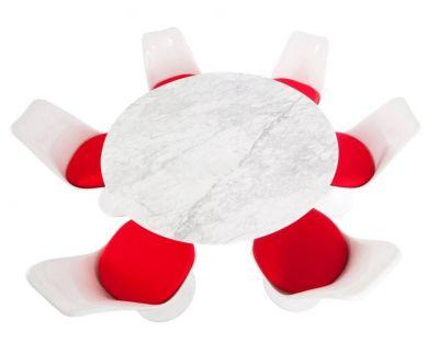 Bright Red Dining Furniture Restaurant