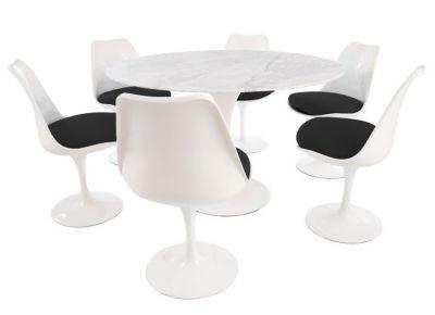 Designer Dining Restaurant Set Marble Top
