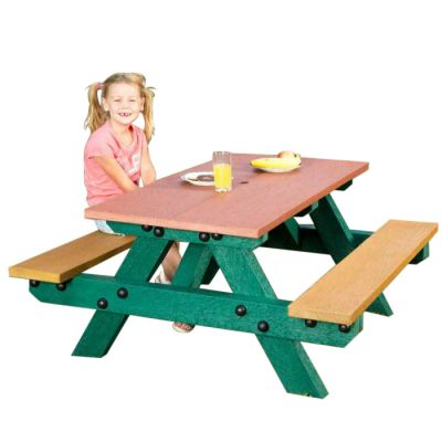 Opal 100% Recycled Plastic Picnic Table