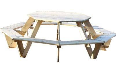 Opal Octagonal Children's Picinic Table