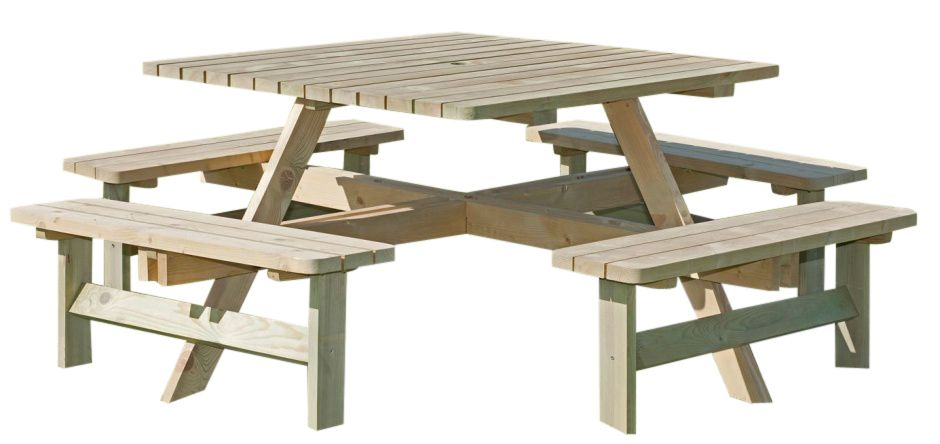 porte 8 12 seater picnic table cafe reality