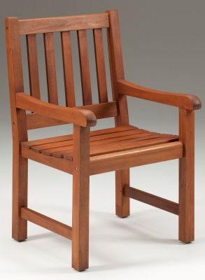 Taunton Outdoor Wooden Armchair 1