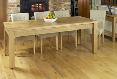 Warminster Extendable Solid Oak Dining Table