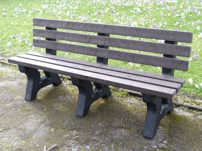 West Avon Recycled Benches 3