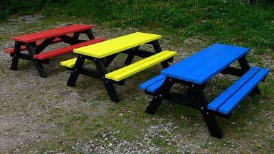 West Coloured Children's Picnic Table