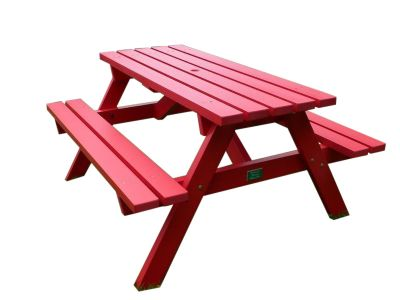 West Coloured Recycled Plastic Picnic Table