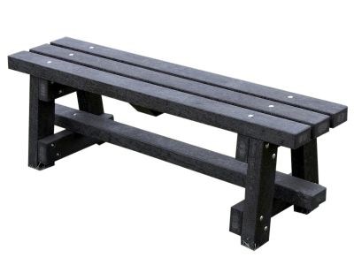 West Oldham Recycled Bench Without Back