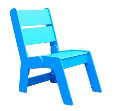 West Recycled Plastic Outdoor Armchairs