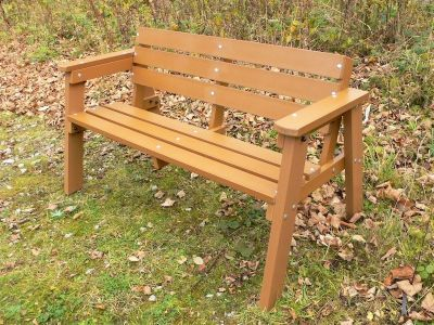 West Winsdor Recycled Benches