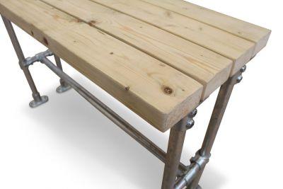 Scaffold Rectangular Bar Heigt Table Detail Shot