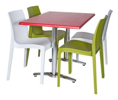 Moby Outdoor Rectangular Dining Bistro Set-5
